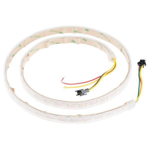 SparkFun LEDs White Tri-Color LED Strip - Addressable, Sealed (1m)