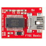 SparkFun Serial Comms SparkFun FTDI Basic Breakout - 5V