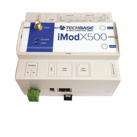 iMod X500 M3 MAX - Industrial Embedded Computer with iMod Software