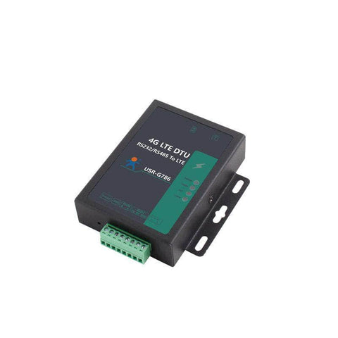 USR IOT IoT Comms Industrial 4G Serial RS485 Electrical Isolation Protection Cellular Modem USR-G786-G (Global Freq.)
