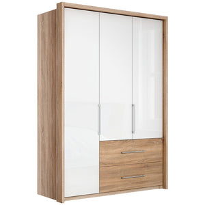 Gratia Glass Wardrobe & Cupboard