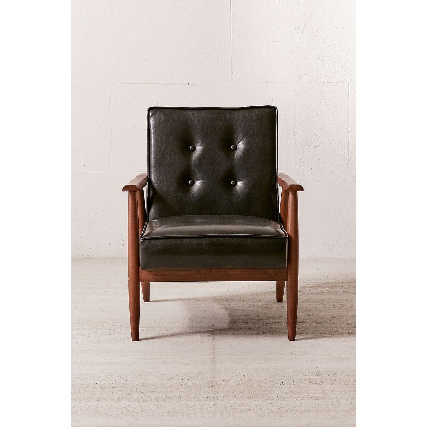 Jane Faux Leather Armchair