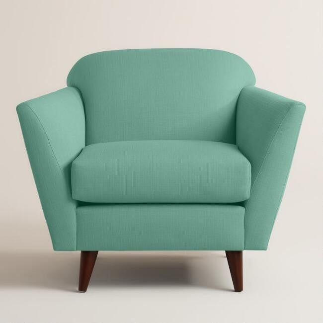 Fabric Upholstered Armchair