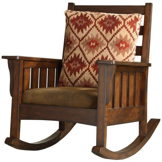 Tudor Wooden Rocking Chair
