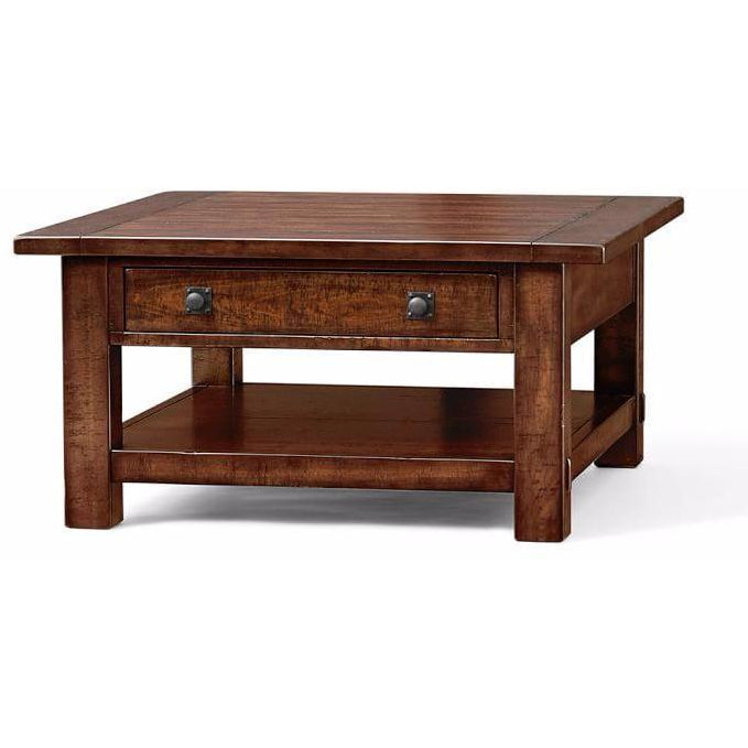 Amica Mahogany Square Coffee Table