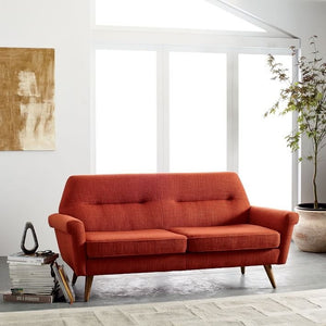Copen Fabric Upholstered Sofa, , Sofa/ Faux Leather, Techprogear Furniture Techprogear