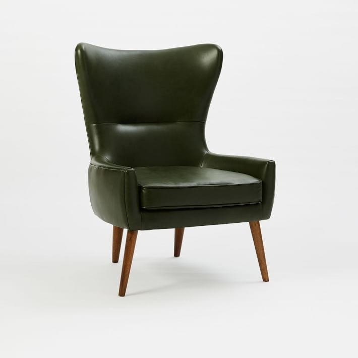 Lars Faux Leather Wingback Chair, , Armchair/Upholstered, Techprogear Furniture Techprogear
