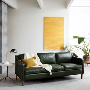 Manhattan Faux Leather Upholstered Sofa, , Sofa/ Faux Leather, Techprogear Furniture Techprogear