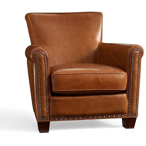 George Faux Leather Upholstered Armchair, , Armchair/Upholstered, Techprogear Furniture Techprogear