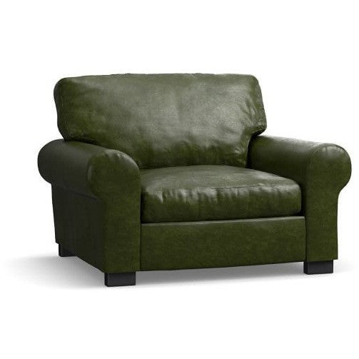 Nimbus Faux Leather Upholstered Armchair, , Armchair/Faux Leather, Techprogear Furniture Techprogear