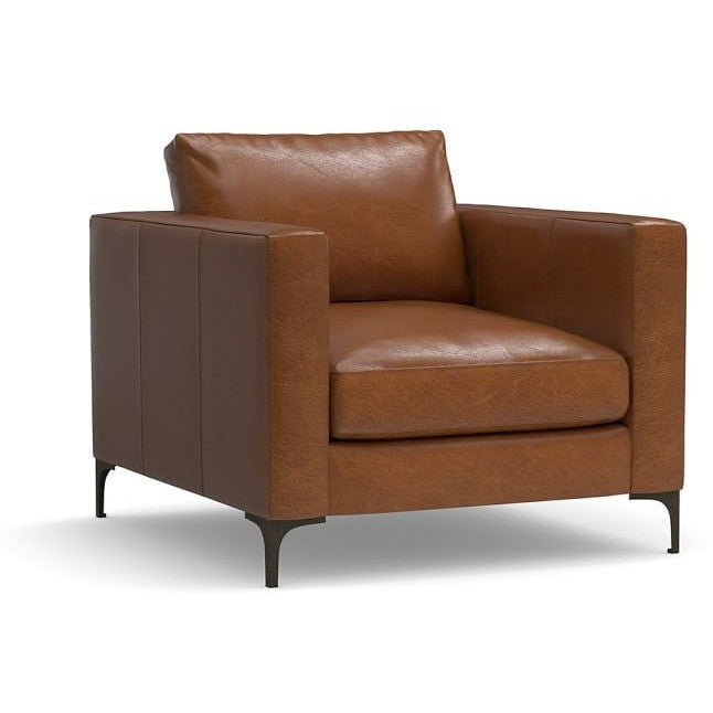 Jacob Faux Leather Upholstered Armchair, , Armchair/Faux Leather, Techprogear Furniture Techprogear