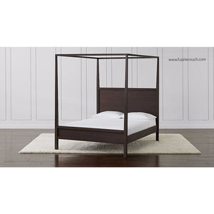 Valdemar Wooden Canopy Bed