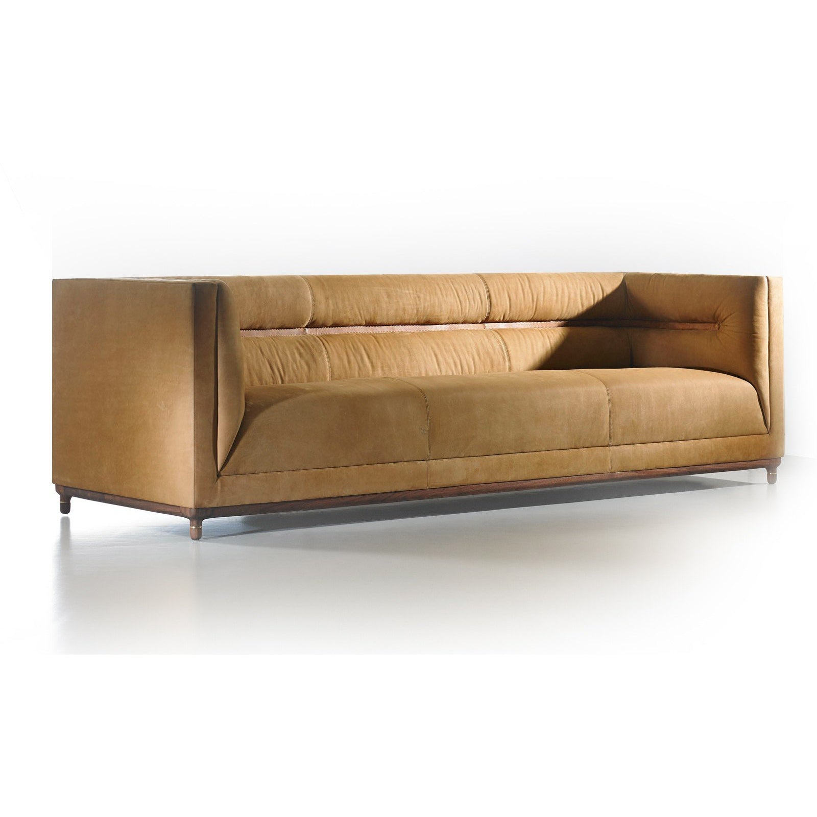 cortez espresso sleeper sofa leather faux adjustable button storage tufted pin brown