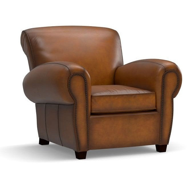 Ambrose Faux Leather Upholstered Armchair, , Armchair/Faux Leather, Techprogear Furniture Techprogear