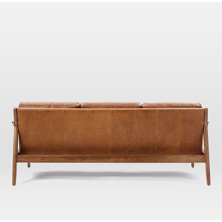 William Faux Leather Upholstered Sofa, , Sofa/ Upholstered, Techprogear Furniture Techprogear