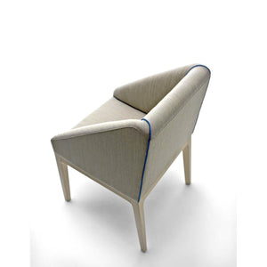 Linear Fabric Upholstered Dining chair