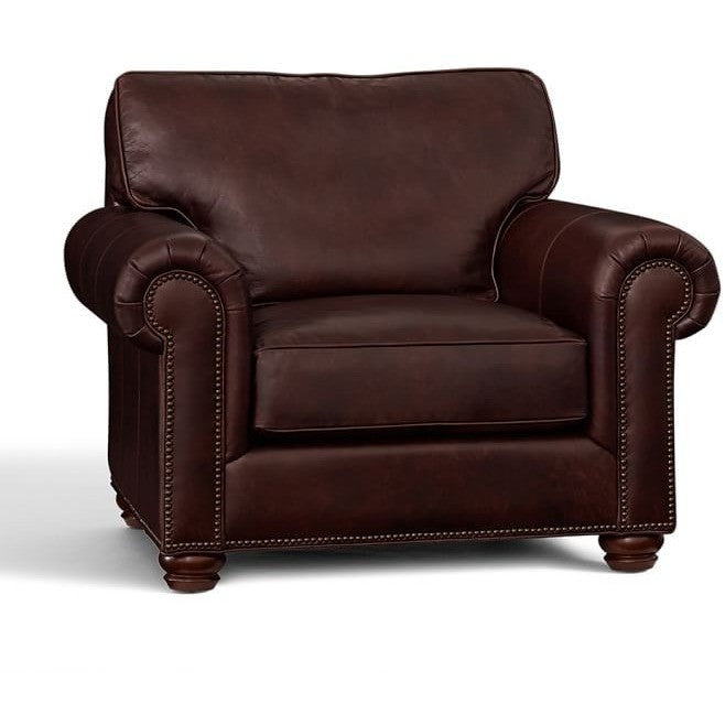 Gladstone Faux Leather Upholstered Armchair, , Armchair/Faux Leather, Techprogear Furniture Techprogear