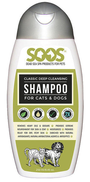 Soos Classic Deep Cleansing Shampoo