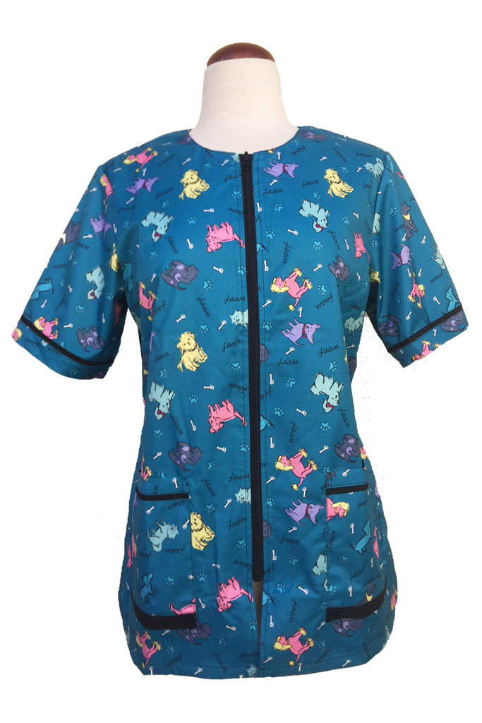 Ladybird Waterproof Bathing Jacket - Dog Print