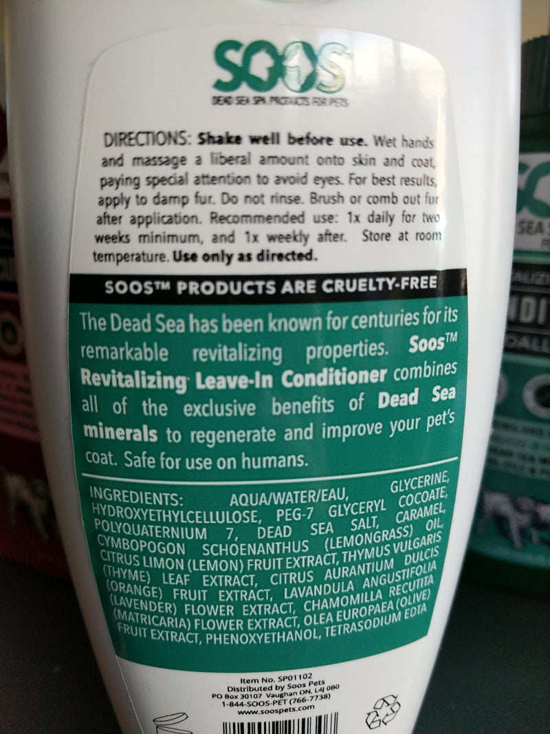 Soos Revitalizing Leave-In Conditioner