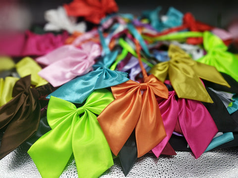 Fancy Bow ties- solid color