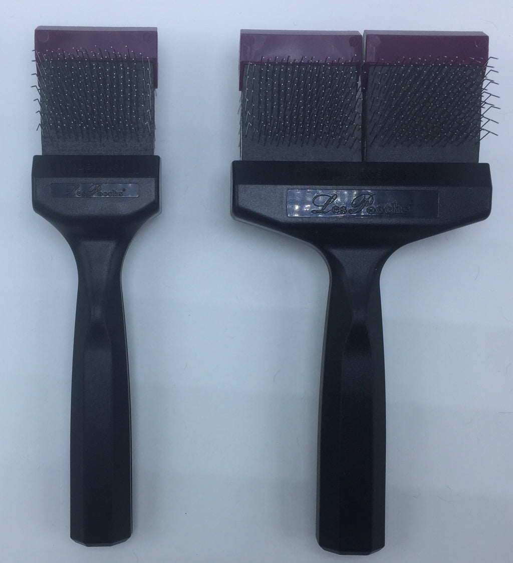 Les Pooch Purple Pro brush -Firm/firm