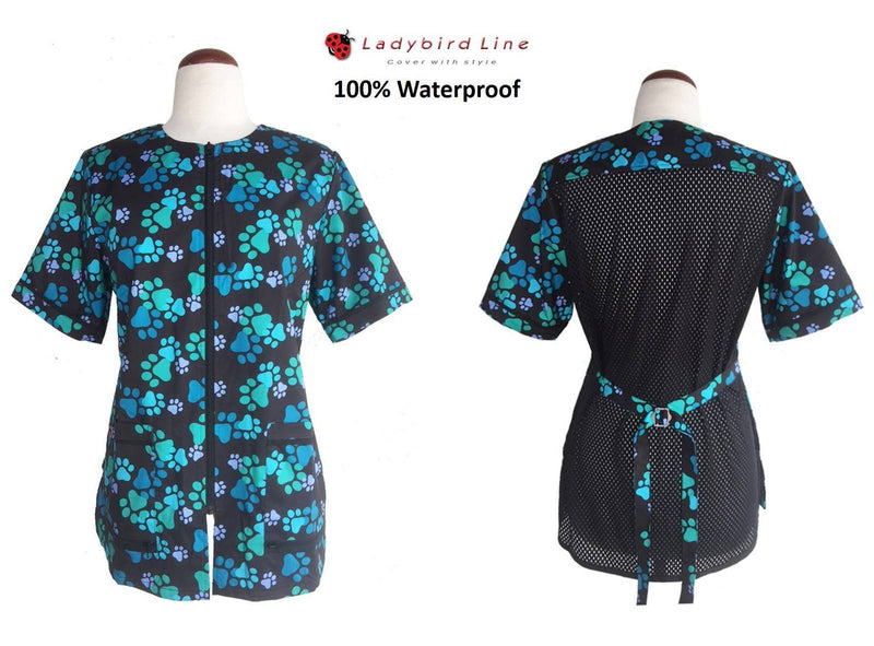 Ladybird Waterproof Bathing Jacket - Paw Print