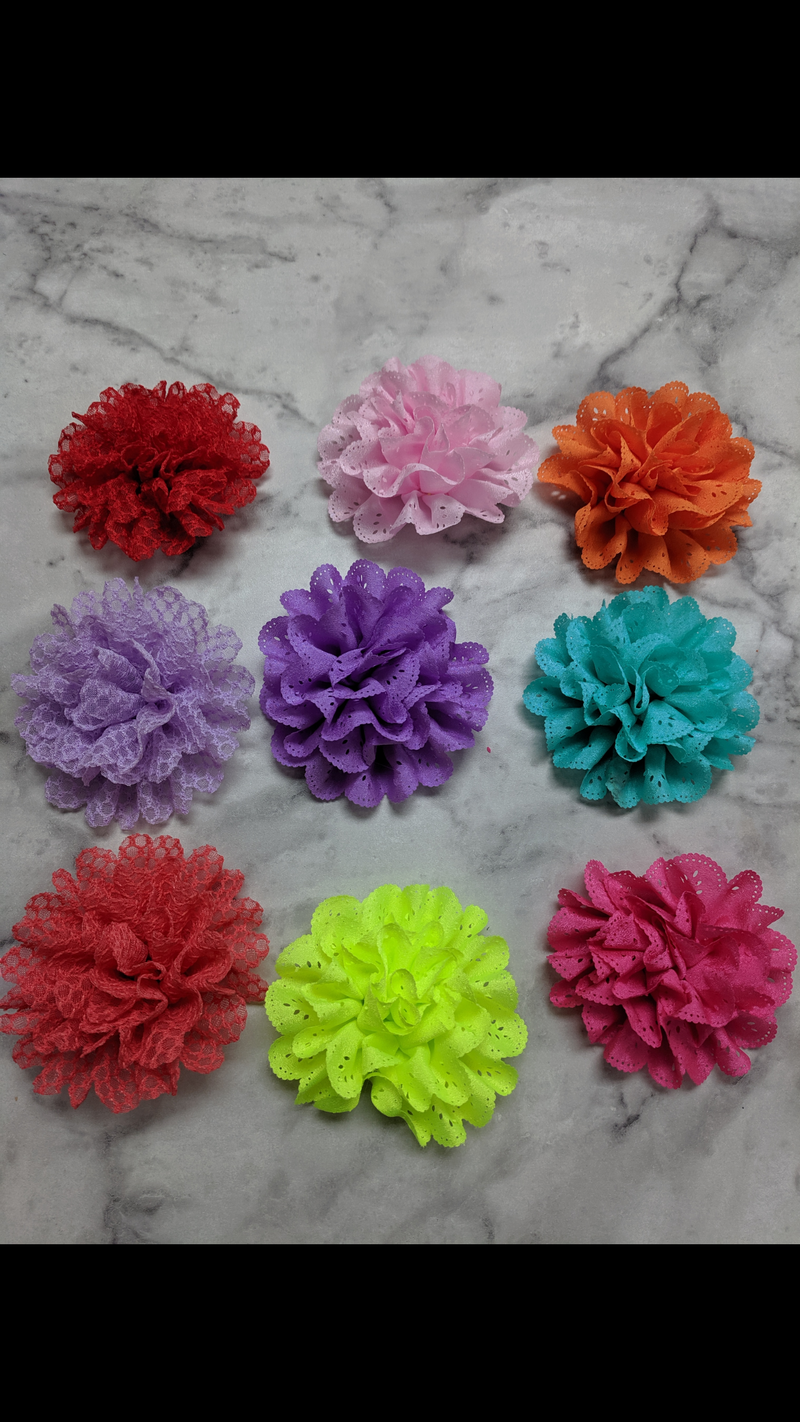 Collar Flower sliders