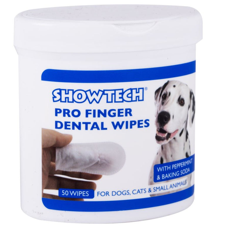 Show tech Pro Finger Dental Wipes