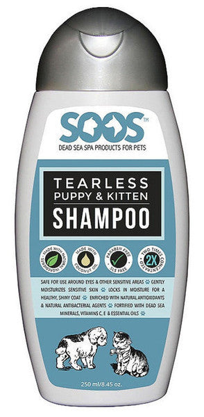 Soos Tearless Shampoo For Dogs & Cats