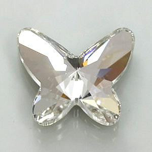 Bow wow Specialty Crystals-Butterfly flatback