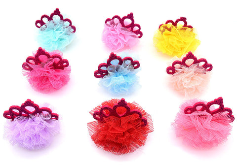 Crown Puff bows