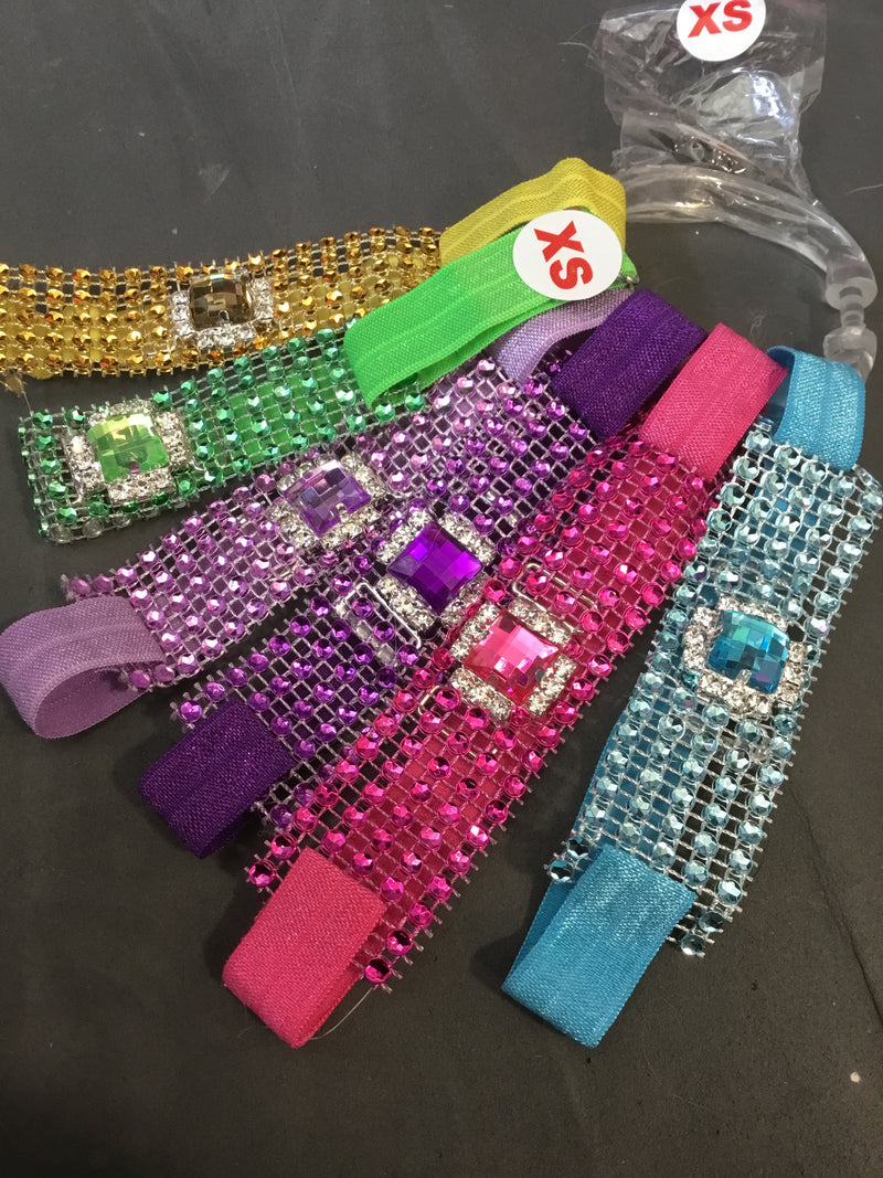 Sparkle Wrap & Gem Collars