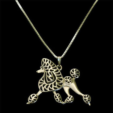 Poodle Continental necklace