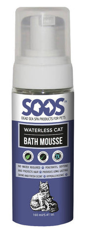 Soos Waterless Cat Bath Mousse(or foam cleaner for anals)