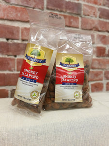 Sohnrey's Smokey Jalapeno Almonds