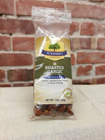 Sohnrey's Roasted Garlic Seasoned Almonds