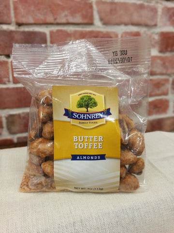 Sohnrey's Butter Toffee Almonds
