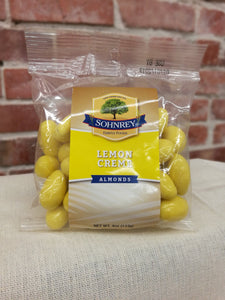 Sohnrey's Candied Lemon Creme Covered Almonds