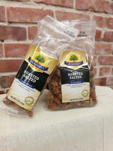 Sohnrey's Roasted and Salted Almonds