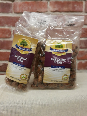 Sohnrey's Balsamic Herb Flavored Almonds