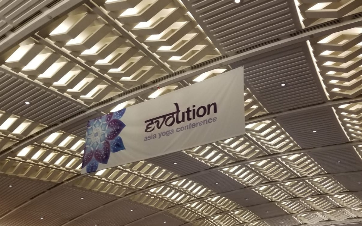 PPD at the 12th Annual Evolution Asia Yoga Conference on 13 - 16 June 2019