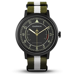 Vivomove Military Black with Green/White Nylon