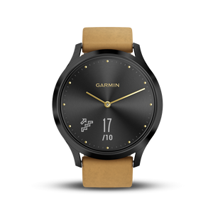 [Demo Unit]Vivomove HR Premium Black-Tan 中英文版 010-01850-50