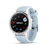 Fenix 5S Plus Silver with Sea foam Silicone Band 中英文版 010-01987-61