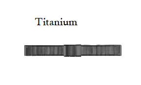 Replacement Titanium Quickfit 22 Watch Band