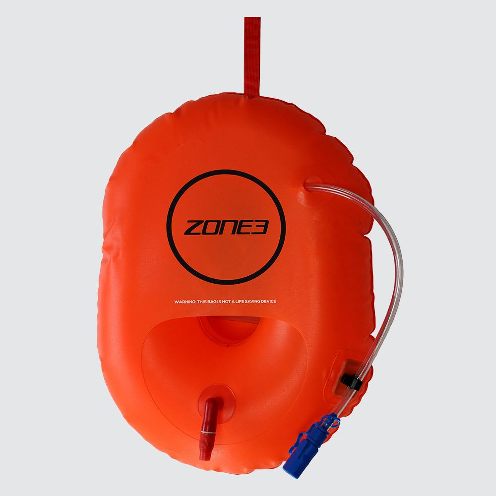 ZONE 3 HYDRATION SWIM SAFETY BUOY, ORANGE