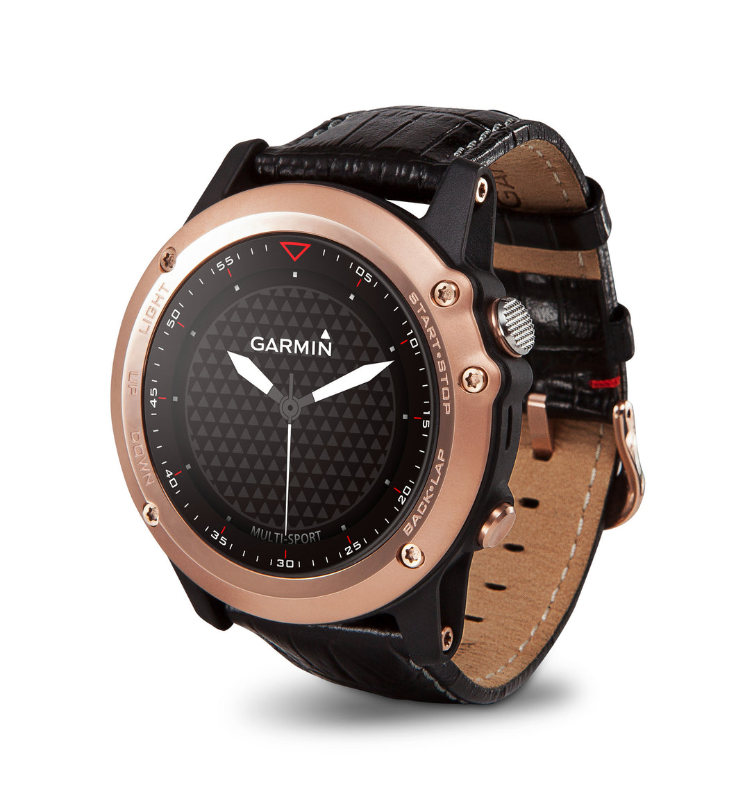 Fenix 3 Leather Rose Gold Eng/Chi