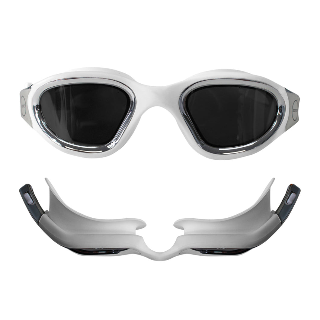 Zone3 Vapour Goggle Polarized White/Silver