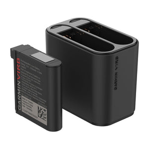 VIRB Ultra Dual Battery Charger  運動攝影機 雙電池充電器 + 電池 x 1